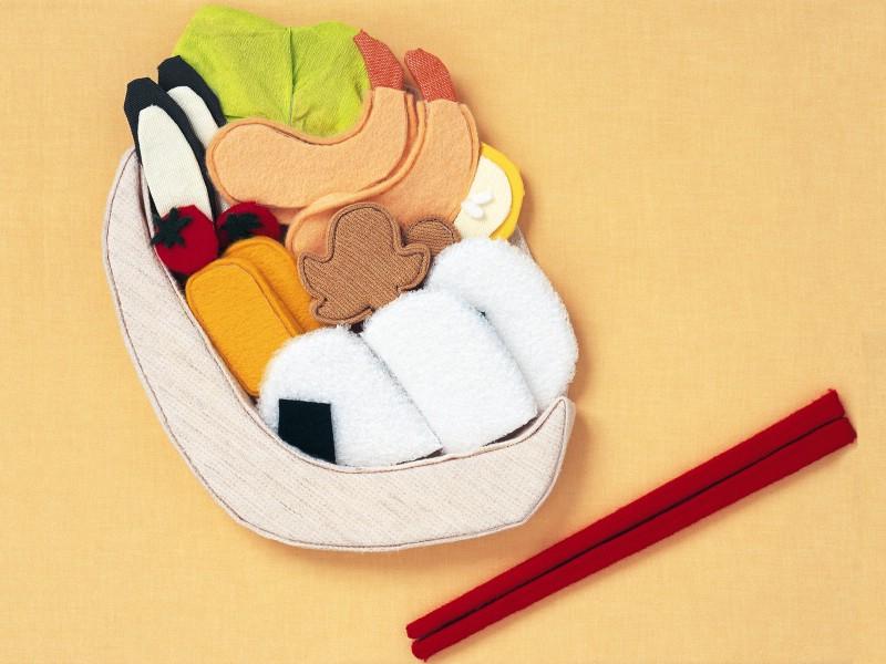 画图片壁纸,日本风情手工布艺画 秋冬篇壁纸图片 绘画壁纸 绘