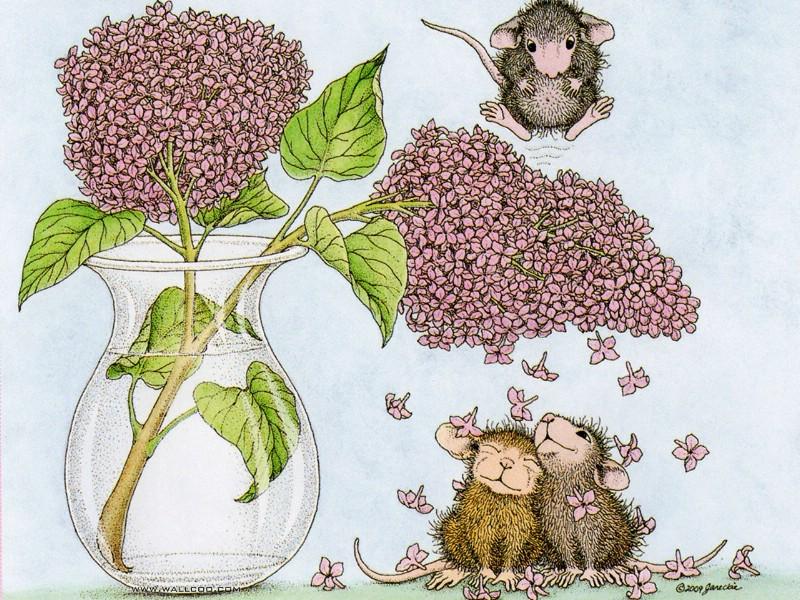 壁纸800×600Confeti 可爱小老鼠插画壁纸壁纸 鼠鼠一家温馨小老鼠插画壁纸壁纸图片绘画壁纸绘画图片素材桌面壁纸