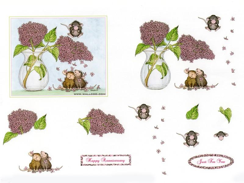 壁纸800×600Confeti 可爱小老鼠插画原画壁纸 鼠鼠一家温馨小老鼠插画壁纸壁纸图片绘画壁纸绘画图片素材桌面壁纸