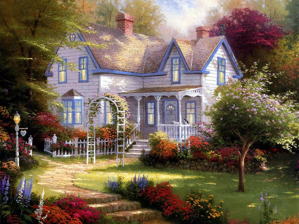 温馨小屋壁纸_