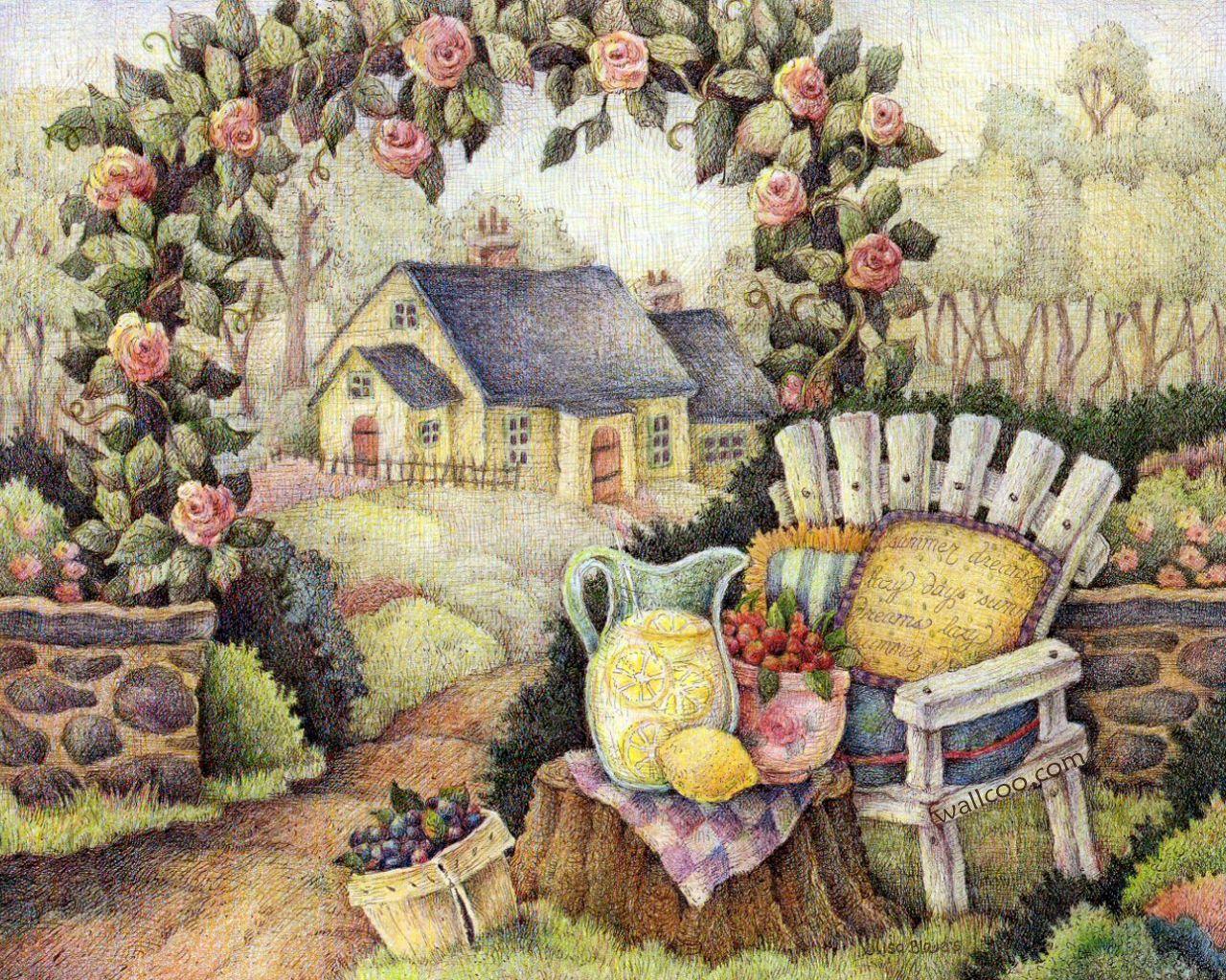 温馨小屋壁纸_温馨小屋xp主题下载温馨小屋墙纸下载温馨小