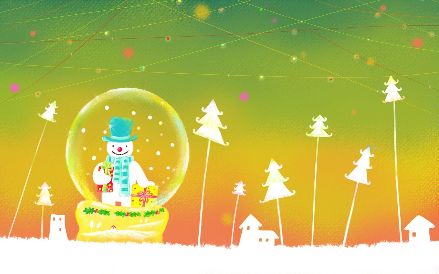 可爱温馨圣诞壁纸壁纸图片节日壁纸节日图片素材桌面