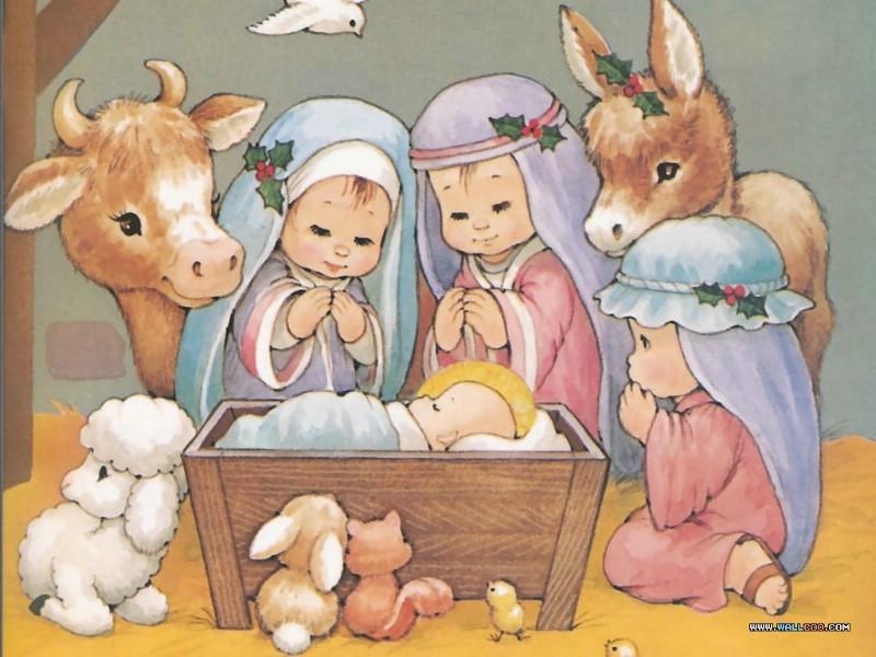 祝福壁纸,圣诞节的来历 耶稣基督出生的圣经故事 the