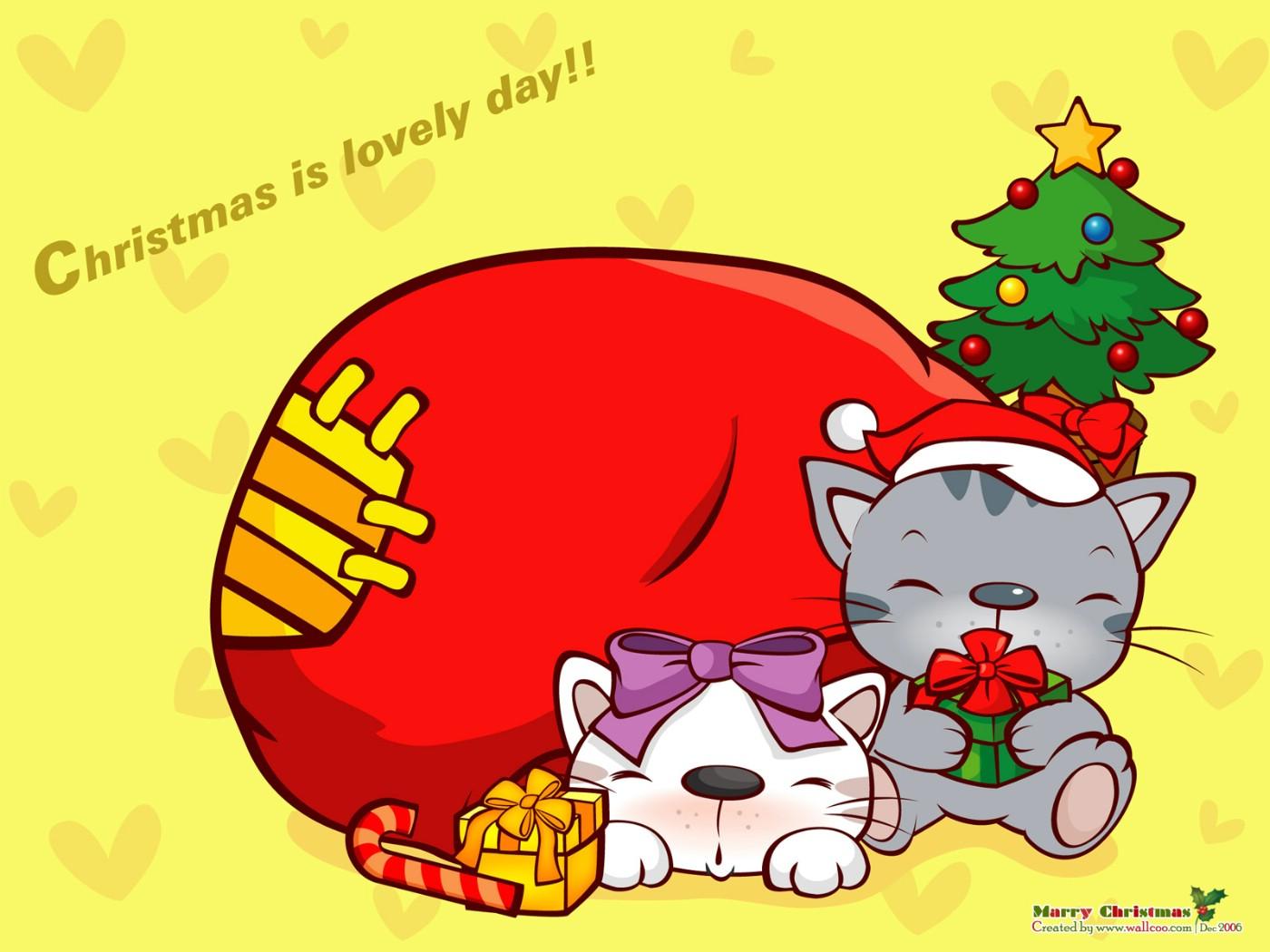 圣诞老人卡通图片