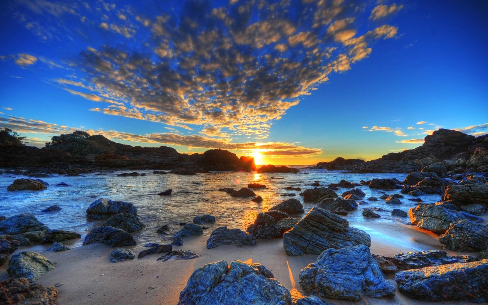 壁纸1680×1050hdr 澳洲悉尼岩石区美景壁纸壁纸,澳洲悉尼风景摄影集
