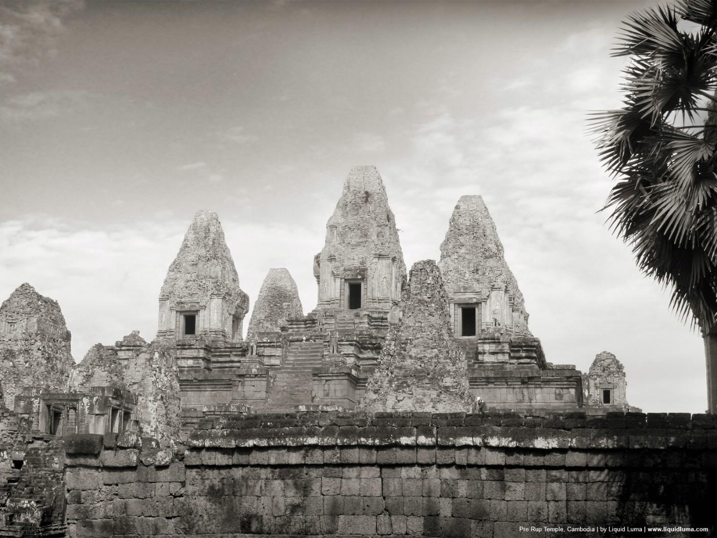 壁纸1400×1050纯粹的光影美学 人文建筑黑白摄影壁纸 Pre Rup Temple Cambodia 柬埔寨吴哥窟的变身塔桌面壁纸壁纸 纯粹的光影美学人文建筑黑白摄影壁纸壁纸图片人文壁纸人文图片素材桌面壁纸