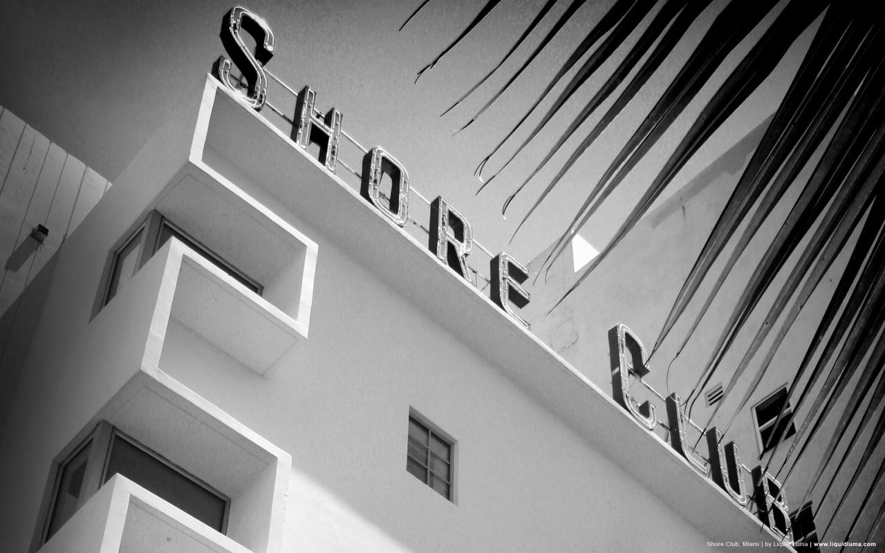 壁纸1280×800纯粹的光影美学 人文建筑黑白摄影壁纸 Shore Club Miami 迈阿密海岸俱乐部桌面壁纸壁纸 纯粹的光影美学人文建筑黑白摄影壁纸壁纸图片人文壁纸人文图片素材桌面壁纸