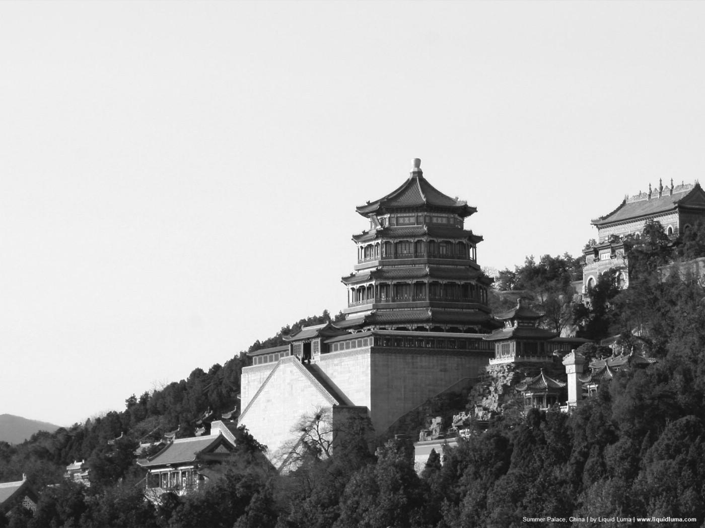 壁纸1400×1050纯粹的光影美学 人文建筑黑白摄影壁纸 Summer Palace China 北京颐和园桌面壁纸壁纸 纯粹的光影美学人文建筑黑白摄影壁纸壁纸图片人文壁纸人文图片素材桌面壁纸