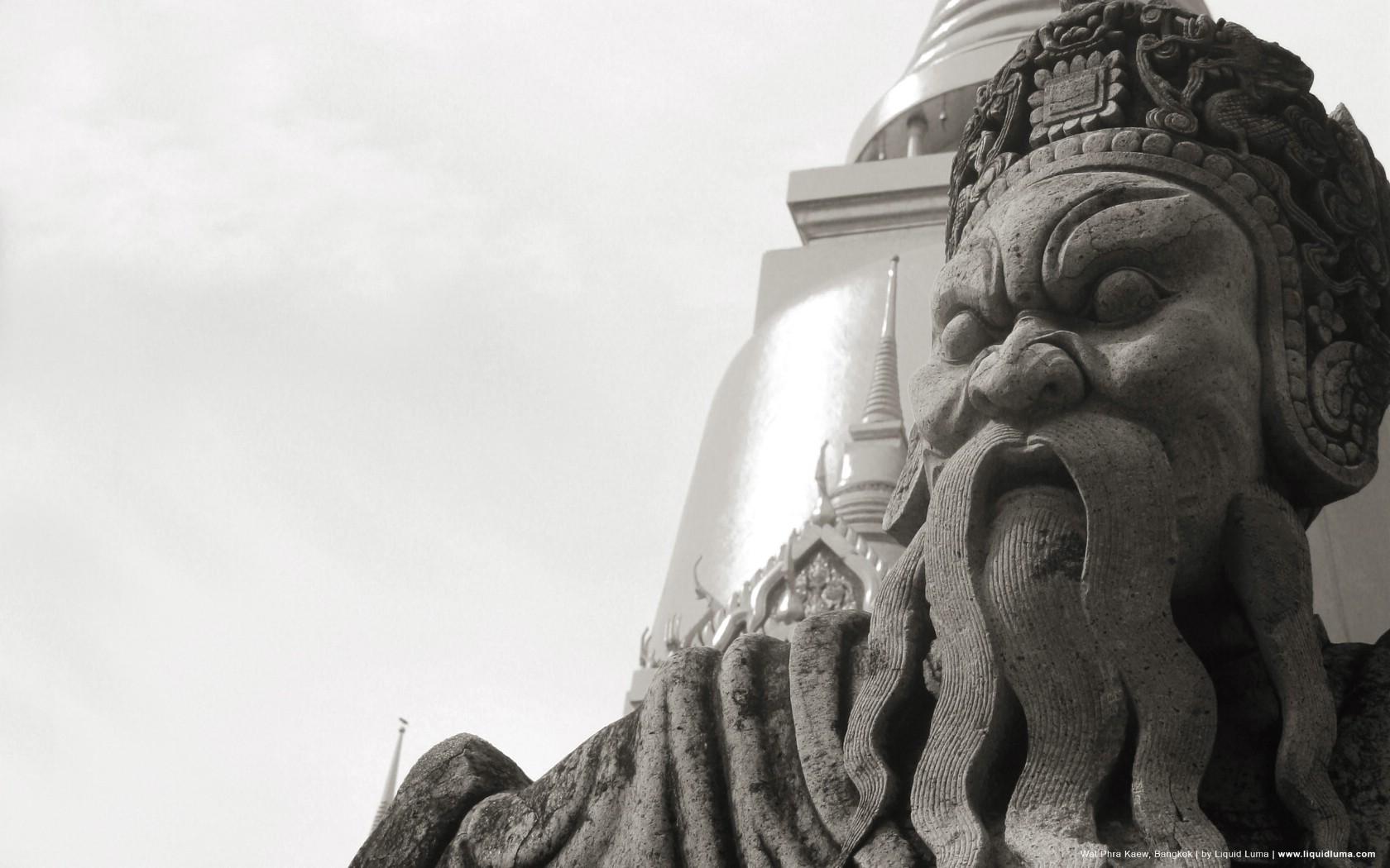 壁纸1680×1050纯粹的光影美学 人文建筑黑白摄影壁纸 Wat Phra Kaew Bangkok 曼谷玉佛寺桌面壁纸壁纸 纯粹的光影美学人文建筑黑白摄影壁纸壁纸图片人文壁纸人文图片素材桌面壁纸