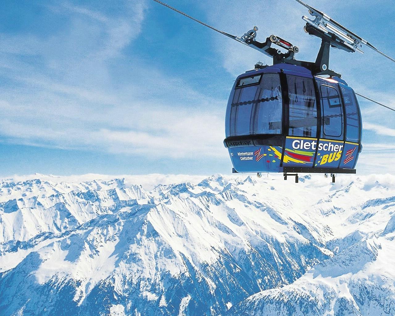 壁纸1280×1024滑雪圣地 阿尔卑斯山度假壁纸 高山缆车图片壁纸壁纸 滑雪圣地阿尔卑斯山度假壁纸壁纸图片人文壁纸人文图片素材桌面壁纸