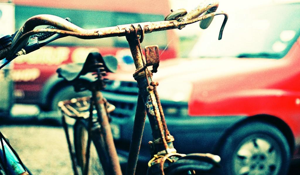 生锈的自行车