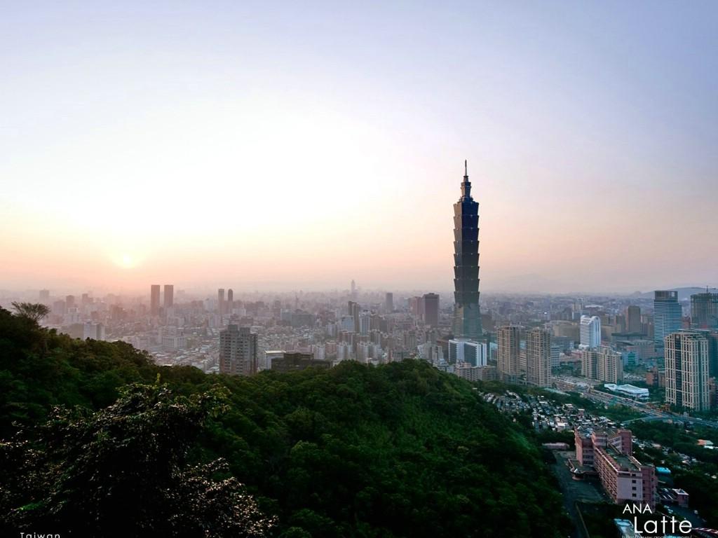 壁纸1024 768台湾101大楼壁纸壁纸 高清图片