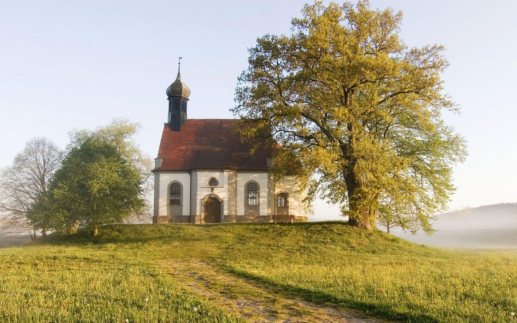 壁纸1680×1050巴伐利亚 弗兰克尼小礼拜堂壁纸壁纸 文化之旅地理人文景观一壁纸图片人文壁纸人文图片素材桌面壁纸