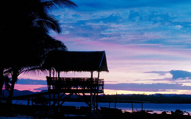 壁纸1440×900菲律宾 锡亚高岛黄昏壁纸壁纸 文化之旅地理人文景观一壁纸图片人文壁纸人文图片素材桌面壁纸