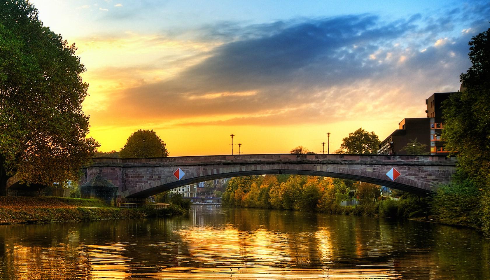 德国城市风景随拍高清桌面壁纸 2560x1600