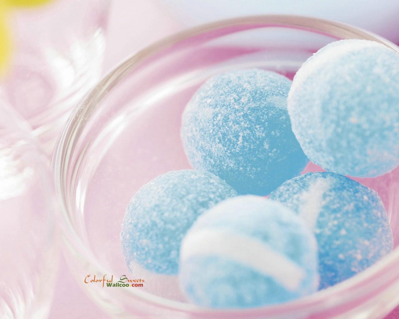 缤纷糖果摄影壁纸(第二辑):梦幻糖果摄影-粉色系糖果图片; 七彩糖果色