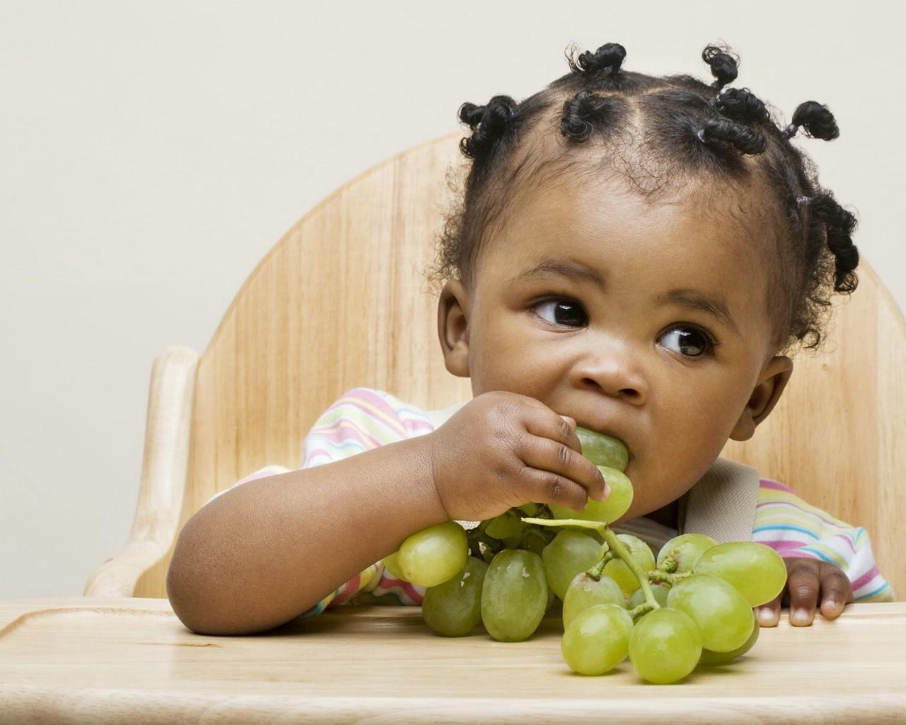 可爱的婴儿摄影照片