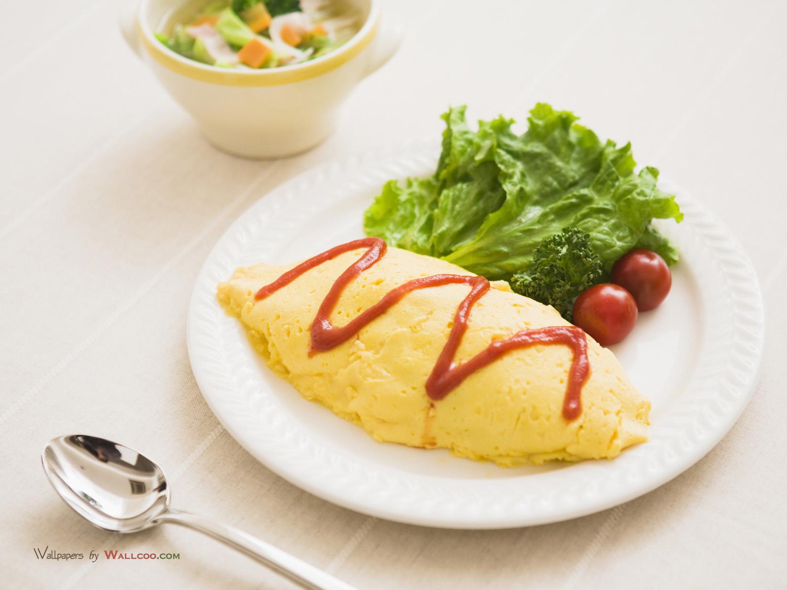 美食壁纸 西式早餐图片 Breakfast Photo Food