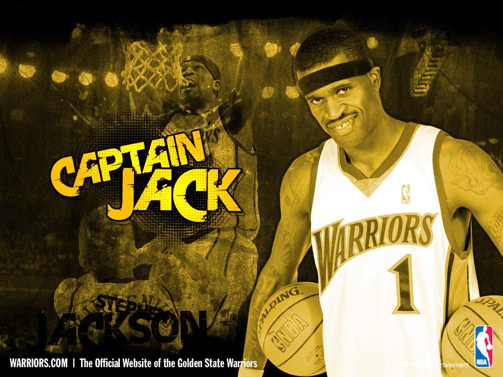 Jackson Desktop壁纸,金州勇士队07 08赛季官方桌面壁纸壁纸图片