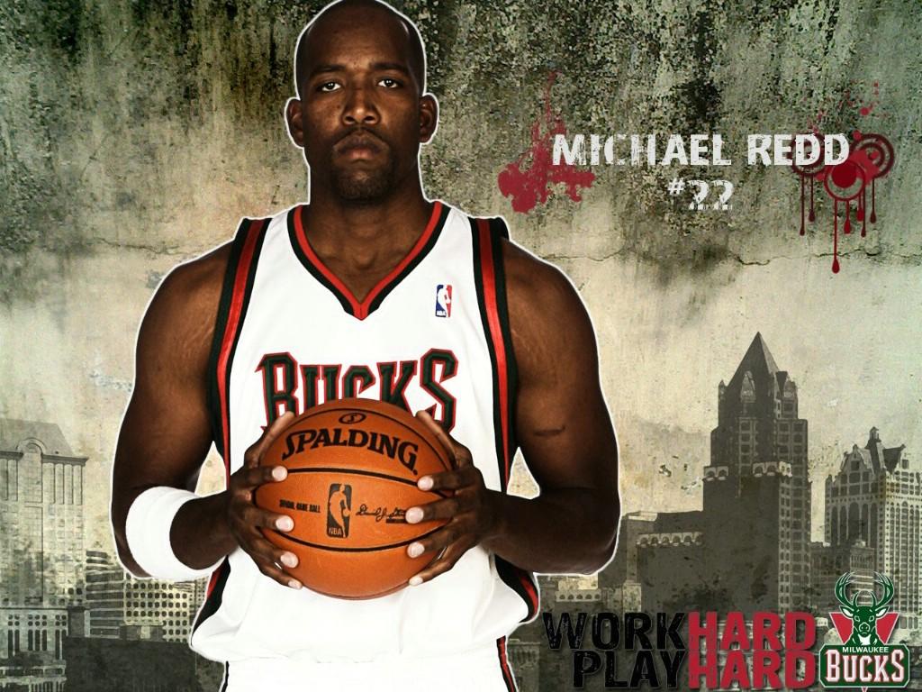 季密尔沃基雄鹿桌面壁纸 Michael Redd壁纸下载壁纸,NBA2009 10
