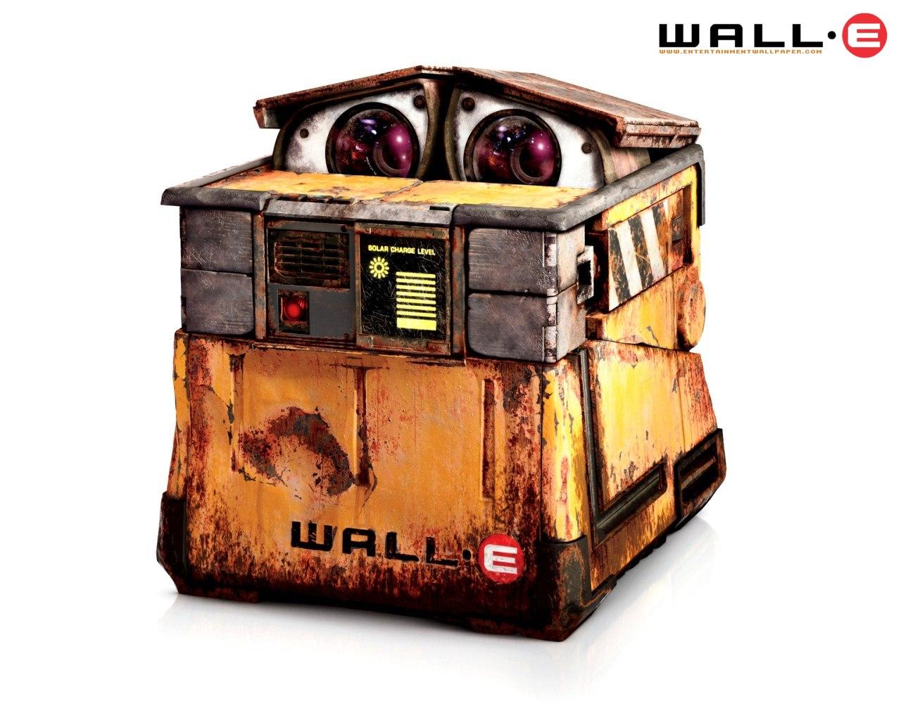 024超可爱 机器人总动员 小瓦力壁纸壁纸,动画电影 机器人总动员