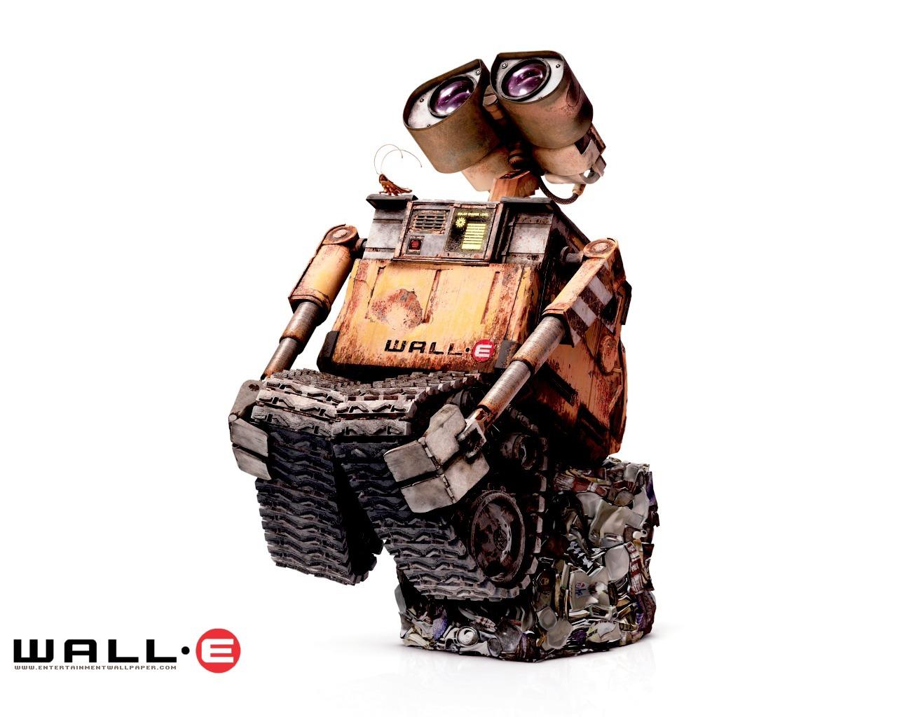 1024机器人总动员 可爱小瓦力壁纸壁纸,动画电影 机器人总动员