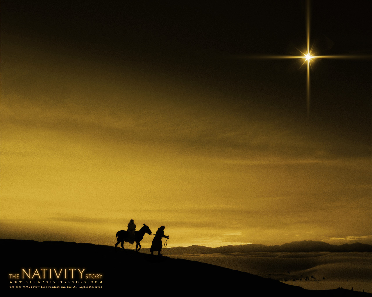 Story 2006 Movie Wallpaper The Nativity Story 耶稣诞生 电影壁纸壁