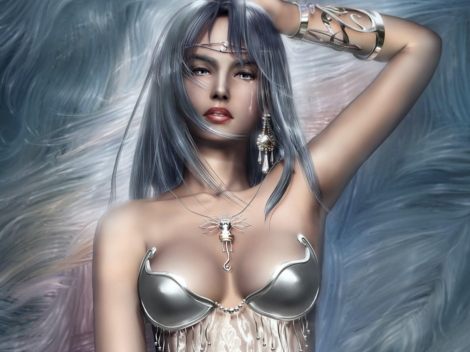游戏cg美女壁纸壁纸,游戏盘点 美女角色cg壁纸图片 游戏壁纸