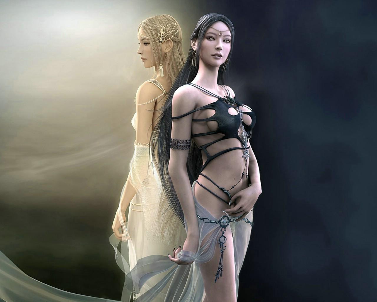 1024shaiya 游戏 性感美女cg壁纸壁纸,游戏盘点 美女角色cg高清图片